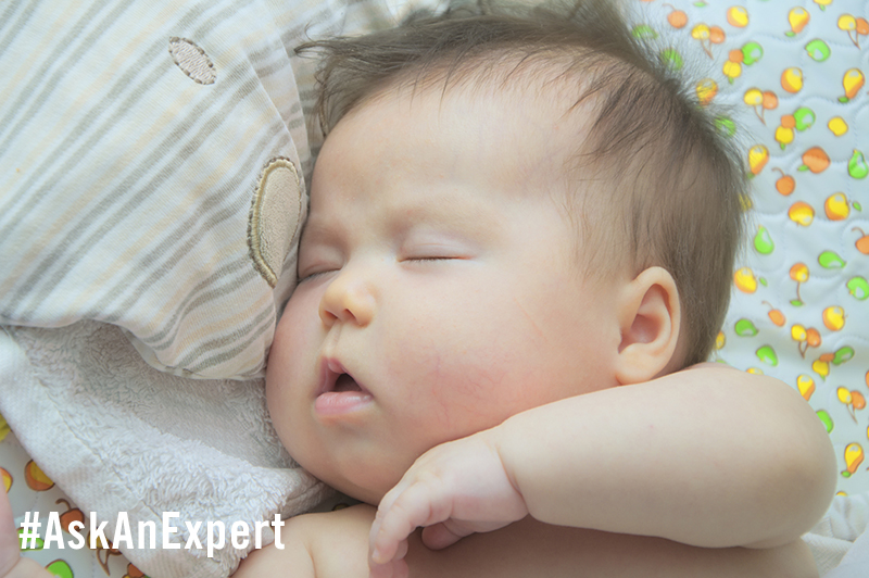 #AskAnExpert: How Can I Get My Baby to Sleep Through the Night?
