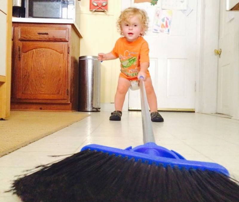 Dear Parents: If Your House Is a Mess, You're Doing It Right!