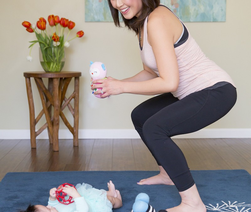 5 Workouts You Can Squeeze in While Cleaning Up Your Kid's Toys
