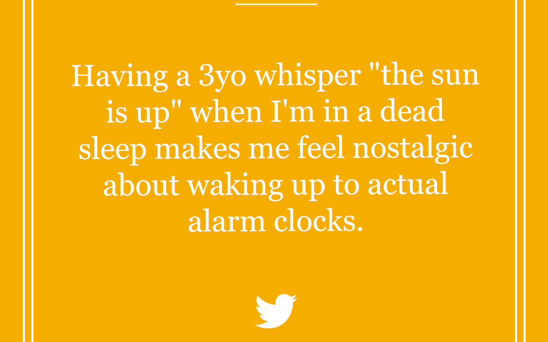 Funny Parenting Tweets: The (No) Sleep Edition